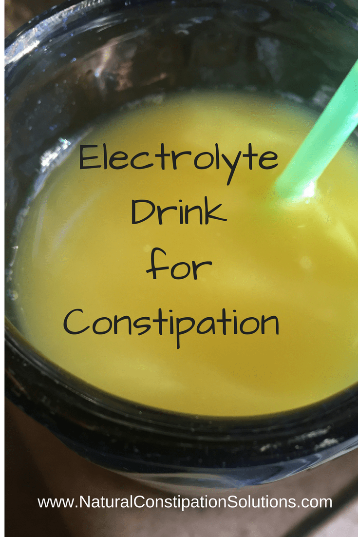 Homemade Electrolyte Drink for