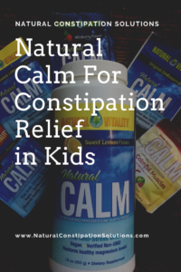 Natural Calm Magnesium for Constipation Relief for Children
